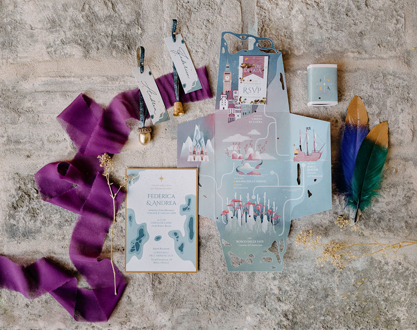 Ila Malù_Wedding Design | Stationery